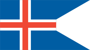 Iceland State Flag