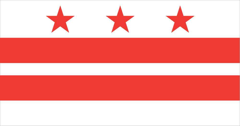 Washington DC Flag  Flag of the District of Columbia    US District nWN2csQy